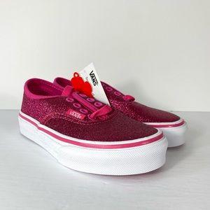 Vans Authentic Glitter Rosy Sneakers